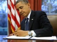 Obama Threatens Veto to Counter Republican Congress