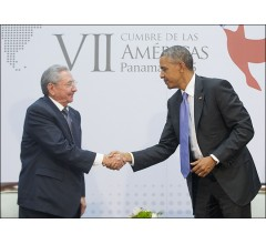 Image for President Obama Says Talks Were Fruitful and Candid with Raul Castro