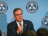 Jeb Bush Talks Up Veterans Policy in South Carolina