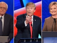 National Poll Shows Trump Trailing both Clinton and Sanders