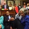 House Floor Scene of Sit-In over Gun Control