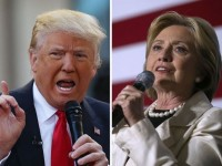 Donald Trump and Hillary Clinton Even At Time of First Debate