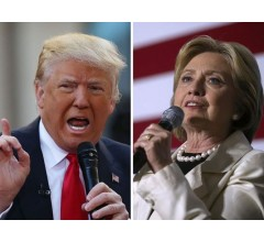 Image for Donald Trump and Hillary Clinton Even At Time of First Debate