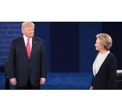 Image for Presidential Debate Takes a Dark Turn