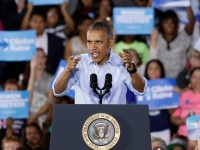 President Obama Focusing on Races for Senate While Campaigning