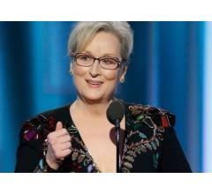 Image for Golden Globe Award Winner Meryl Streep Blasts President-Elect