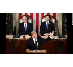 Image for President Trump's First Address Optimistic