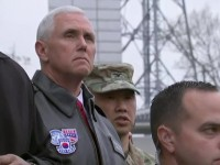 Vice President Pence Says North Korea Should Not Test U.S. Resolve