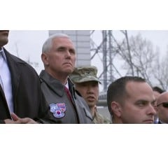 Image for Vice President Pence Says North Korea Should Not Test U.S. Resolve