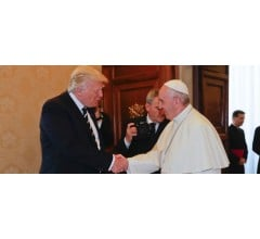 Image for President Trump Welcomed by Pope Francis at Vatican