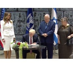 Image for President Trump Visits Israel for First Time as U.S. President