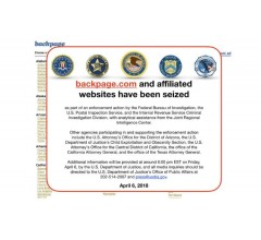 Image for U.S. Authorities Shut Down Sex Ads Site Backpage
