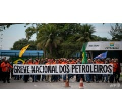 Image for Oil Workers Strike in Brazil in Another Hit to the Government