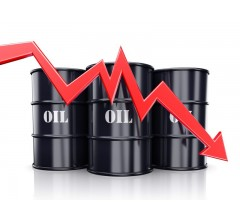 Image for US Crude Prices Plummet 4% as Russia and OPEC Consider Easing Caps
