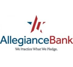 Image for Allegiance Bancshares, Inc. (ABTX) to Issue Quarterly Dividend of $0.12 on  September 15th