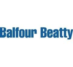 Image for Balfour Beatty (OTCMKTS:BAFYY) Sets New 52-Week High at $9.09