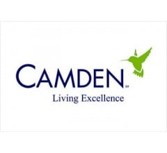 Image for Camden Property Trust Plans Quarterly Dividend of $0.83 (NYSE:CPT)
