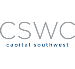 Image about $18.41 Million in Sales Expected for Capital Southwest Co. (NASDAQ:CSWC) This Quarter