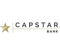 Image for Capstar Financial Holdings, Inc. (NASDAQ:CSTR) to Issue $0.06 Quarterly Dividend