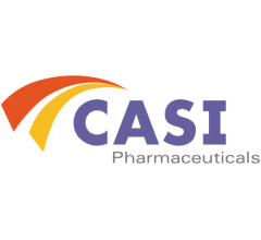 Image for Analysts Expect CASI Pharmaceuticals, Inc. (NASDAQ:CASI) Will Announce Quarterly Sales of $7.77 Million