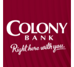 Image for Colony Bankcorp, Inc. to Issue Quarterly Dividend of $0.10 (NASDAQ:CBAN)