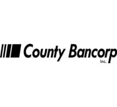 Image for County Bancorp, Inc. (NASDAQ:ICBK) to Post FY2021 Earnings of $2.59 Per Share, Piper Sandler Forecasts