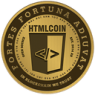 HTMLCOIN   Trading 8.3% Lower  Over Last Week