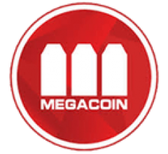 Image for Megacoin 24-Hour Trading Volume Reaches $10.00 (MEC)