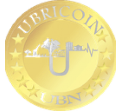 Image for Ubricoin (UBN) 24 Hour Trading Volume Reaches $360.00