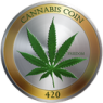CannabisCoin Price Down 12.6% This Week