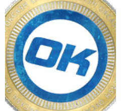 Image for OKCash Trading Down 9.6% Over Last 7 Days (OK)