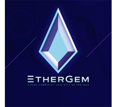 Image for EtherGem (EGEM) Trading Down 10.3% Over Last Week