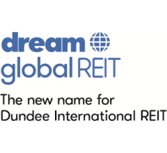 Image for Dream Global REIT (TSE:DRG.UN) Shares Pass Below Fifty Day Moving Average of $16.79