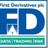 First Derivatives  Shares Pass Below Two Hundred Day Moving Average of $0.00