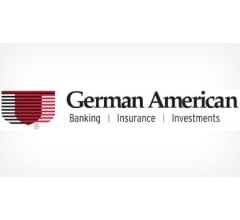 Image for German American Bancorp (NASDAQ:GABC) Releases  Earnings Results, Beats Expectations By $0.10 EPS