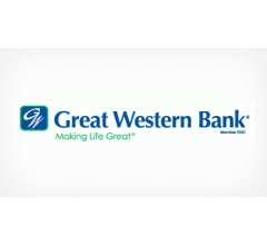 Image for Great Western Bancorp, Inc. (NYSE:GWB) Declares Quarterly Dividend of $0.05