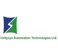 Image for Hollysys Automation Technologies (NASDAQ:HOLI) Sees Strong Trading Volume