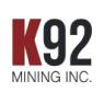 K92 Mining Inc.  Short Interest Update
