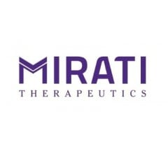 Image for Insider Selling: Mirati Therapeutics, Inc. (NASDAQ:MRTX) CEO Sells 40,000 Shares of Stock