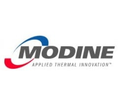 Image for $0.28 EPS Expected for Modine Manufacturing (NYSE:MOD) This Quarter