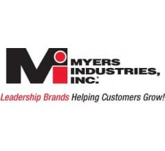 Image for Myers Industries (NYSE:MYE) Shares Gap Down to $21.46