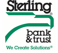 Image for Sterling Bancorp (NYSE:STL) Issues Quarterly  Earnings Results, Hits Expectations