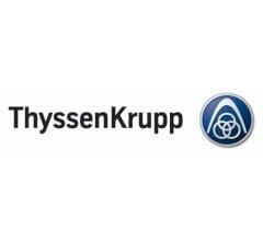 Image for thyssenkrupp (FRA:TKA) PT Set at €16.00 by Baader Bank