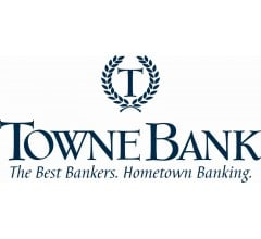 Image for TowneBank (NASDAQ:TOWN) Announces Quarterly  Earnings Results