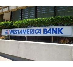 Image for Westamerica Bancorporation (WABC) to Issue Quarterly Dividend of $0.41 on  August 13th