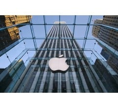Image for Shares of Apple Reach Record High on Strong Sales of iPhone