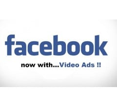 Image for Facebook Catching YouTube in Ads for Videos