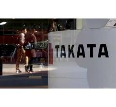 Image for U.S. Company Leading Race to Buy Airbag Maker Takata