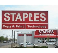 Image for Shares of Staples Fall After Earnings Come Up Short