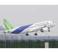 Image for China's C919 Completes Maiden Flight